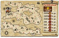 Tombola Treasure Map