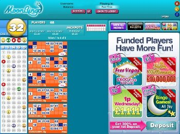 Moon Bingo screenshot
